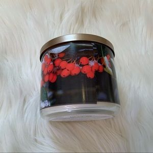 Bath & Body Works Accents - Bath & Body Works Frosted Cranberry 3-Wick Candle